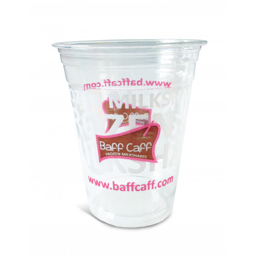 Clear Cups 300 ml, mit Baff-Caff-Logo, 50...