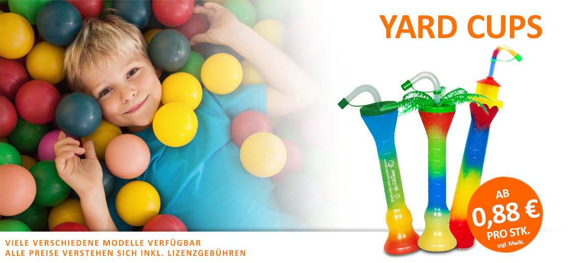 Yard Cups, Refill-Becher