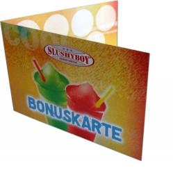 200 Bonuskarten / Stempelkarten