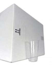 Karton 0,4l-Becher, klar neutral