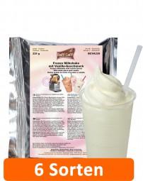 Baff Caff Frozen Milkshakes | 335-g-Beutel Coffee- und Milchshake-Pulver in 6 Sorten