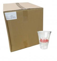 Karton 0,3l-Clear-Cups, klar (mit SLUSHYBOY-Logo)