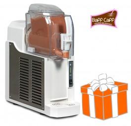 Mini-Slusher NINA 1x1,5 Liter, white, inkl. Frozen Milkshakes-Starterpaket