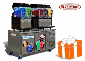 Power-Slush-Wagon 5x11 Liter inkl. Slush-Ice-Starterpaket
