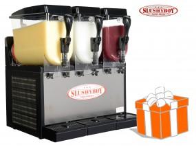SLUSHER Classic 3x8 Liter inkl. Slush-Ice-Starterpaket
