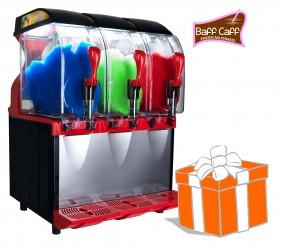 SLUSHER ECO 3 x 11 L inkl. Frozen Milkshakes-Starterpaket