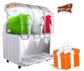 POWER SLUSHER ECO HC+ 3x11 L inkl. Frozen Milkshake-Starterpaket