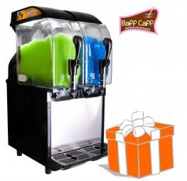 POWER SLUSHER ECO HC 2 x 11 L inkl. Frozen Milkshakes-Starterpaket