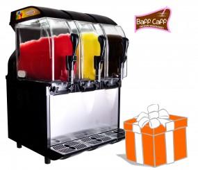 POWER SLUSHER ECO HC 3 x 11 L inkl. Frozen Milkshakes-Starterpaket
