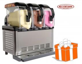 SLUSHER Premium 3x5 Liter inkl. Slush-Ice-Starterpaket