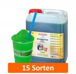SLUSHYBOY® FROZEN DRINKS | 6-Liter Kanister Sirup in 16 Sorten