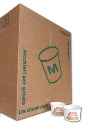Eisbecher M (160ml) Karton
